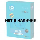 Бумага цветная для принтера IQ Сolor А3, 80 г/м2, 500 листов, светло-синяя, AB48