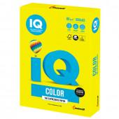 Бумага цветная для принтера IQ Сolor А3, 80 г/м2, 500 листов, желтая, NEOGB
