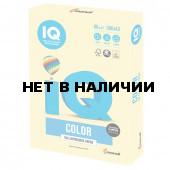 Бумага цветная для принтера IQ Сolor А3, 80 г/м2, 500 листов, желтая, YE23