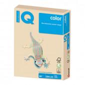 Бумага цветная для принтера IQ Сolor А3, 80 г/м2, 500 листов, темно-кремовая, SA24