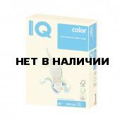 Бумага цветная для принтера IQ Сolor А3, 80 г/м2, 500 листов, ванильная, BE66
