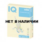 Бумага цветная для принтера IQ Сolor А3, 160 г/м2, 250 листов, желтая, YE23