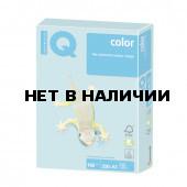 Бумага цветная для принтера IQ Сolor А3, 160 г/м2, 250 листов, голубая, MB30