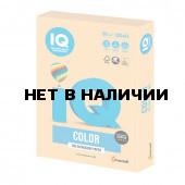 Бумага цветная для принтера IQ Сolor, А4, 80 г/м2, 500 листов, золотистая, GO22