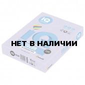 Бумага цветная для принтера IQ Сolor, А4, 160 г/м2, 250 листов, бледно-лиловая, LA12