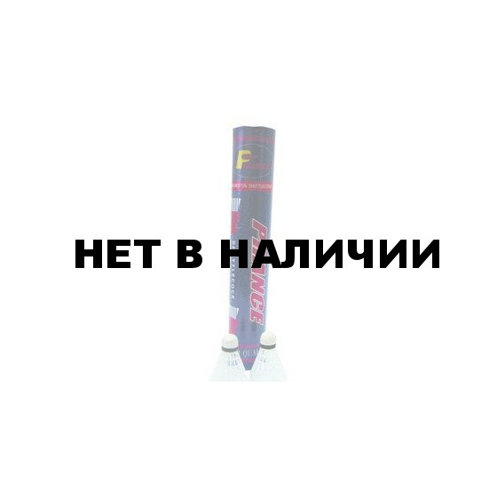 Воланы для бадминтона LIBERA пластик. проф. белые (12 шт.) PS001-1