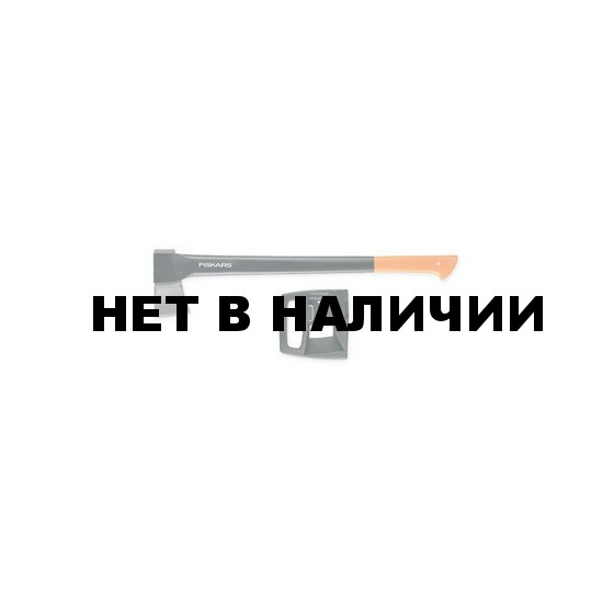Топор-колун Fiskars 1500 + точилка для топоров (122194)