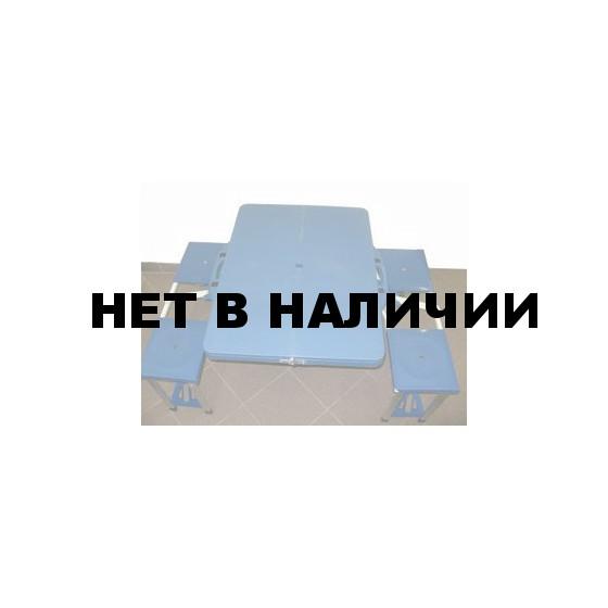 Комплект туристической мебели (стол + 4 стула) MESUCA T104