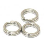 Заводное кольцо Namazu, цвет Cr, р. 10 ( d=4,3 mm), до 3,5 кг 10 шт N-FT-RA10