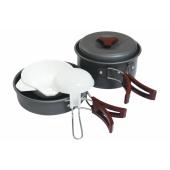 Набор туристической посуды Tramp алюминий TRC-025