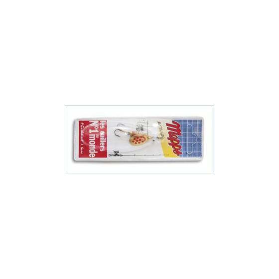 Блесна вращ. MEPPS Aglia PTS Rouges OR блистер №1 (3,5г) CPAR10011