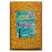 Кукуруза натуральная для рыбалки Карпомания 1кг Мед