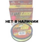 Рыболовная леска плетеная TUF LINE DURA CAST 114м 0,13 (желтая)