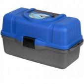 Ящик рыболовный трехполочный Helios синий