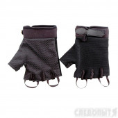 Перчатки туристические Следопыт, черные, без пальцев, размер XL PF-GT-B02