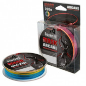 Леска плетеная Akkoi Mask Arcane X4 0,24мм 200м Multicolor MA4MC/200-0,24