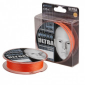 Леска плетеная Akkoi Mask Ultra 0,16мм 130м Orange MU4O/130-0,16
