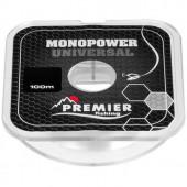 Леска Premier Fishing Monopower Universal 0,40мм 100м Clear Nylon PR-MU-T-040-100