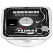 Леска Premier Fishing Monopower Universal 0,30мм 30м Clear Nylon PR-MU-T-030-30