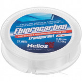 Леска флюорокарбон Helios Fluorocarbon 0,40мм 30м Transparent HS-FCT 40/30