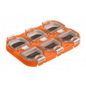 Коробка рыболовная Helios 11х8х1,5см HS-XD-05