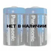 Батарейки солевые Panasonic R20 (D) 2 шт (373)
