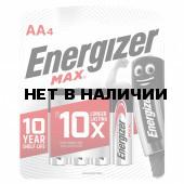 Батарейки алкалиновые Energizer Max LR06 (AA) 4 шт E300157104