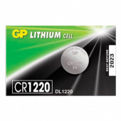 Батарейка литиевая GP Lithium CR1220 1 шт CR1220RA-7C5