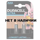 Батарейки алкалиновые Duracell Ultra Power LR03 (AAA) 2 шт