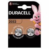 Батарейки литиевые Duracell Lithium CR2032, 2 шт