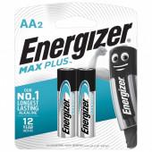 Батарейки алкалиновые Energizer Max Plus LR06 (AA) 2 шт E301323101
