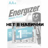 Батарейки алкалиновые Energizer Max Plus LR06 (AA) 4 шт E301325001