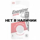 Батарейка литиевая Energizer CR 2016, 1 шт E301021801