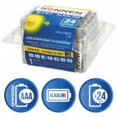 Батарейки алкалиновые Sonnen Alkaline LR03 (ААА) 24 шт 455096