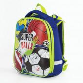 Ранец для мальчиков Brauberg Premium Супер-мячи 17 л 227822