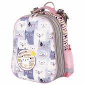 Ранец для девочек Юнландия Extra Gray kittens 17 л 227843