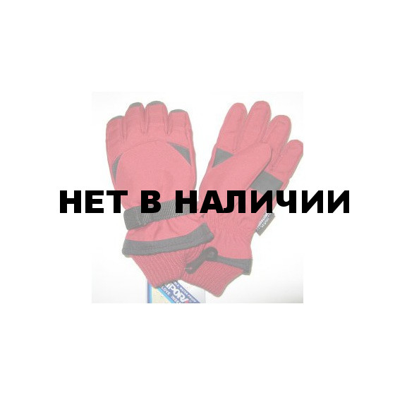 Перчатки подростковые 4345MH (красные)