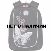 Рюкзак школьный ортопедический Grizzly Бабочка 13 л RAf-192-3/1