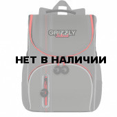 Рюкзак школьный ортопедический Grizzly 8 л RAm-185-2/3