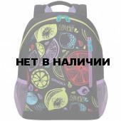 Рюкзак школьный Grizzly Фруктовый микс 12 л RX-025-1/1