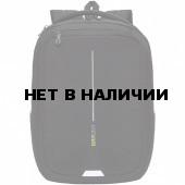 Рюкзак школьный Grizzly Черный 17 л RU-134-1/2