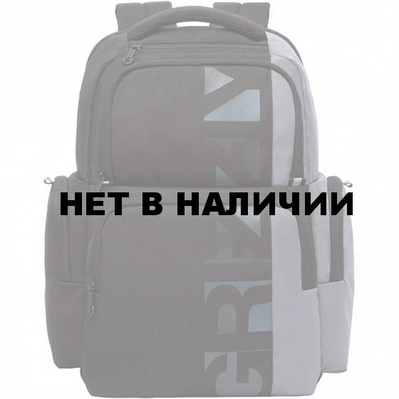 Рюкзак школьный Grizzly Черный 20 л RU-133-1/1