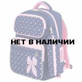 Рюкзак ортопедический с пеналом Юнландия Complete Pink bow 18 л 229972