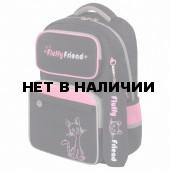 Рюкзак ортопедический с пеналом Юнландия Complete Fluffy friend 18 л 229973