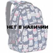 Рюкзак школьный Grizzly Мяу 13,5 л RG-160-4/1