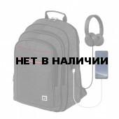 """Рюкзак для ноутбука 15"""" с USB Brauberg Urban Progress 36 л 229873"""
