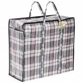 Клетчатая сумка-баул Любаша 36 л 604696
