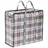 Клетчатая сумка-баул Любаша 56 л 604698