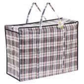 Клетчатая сумка-баул Любаша 68 л 604700