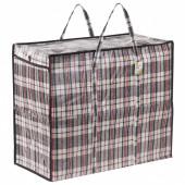 Клетчатая сумка-баул Любаша 90 л 604702